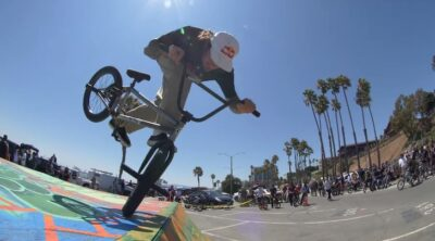 Pedal For Peace BMX video