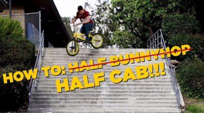 How To Half Cab BMX Dustin Lee