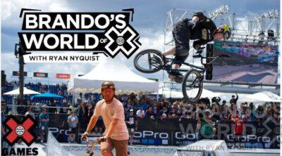 World of X Games Ryan Nyquist BMX