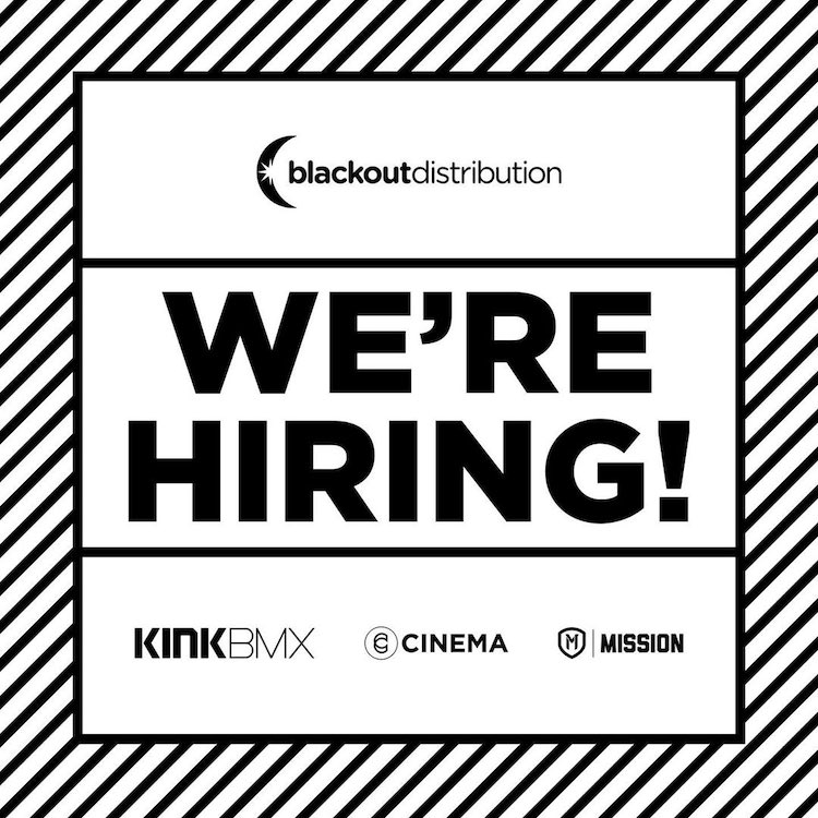 Blackout Distribution Now Hiring