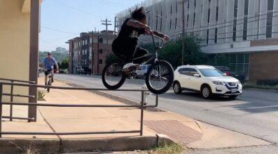 Brad Simms One Day In Austin Texas BMX