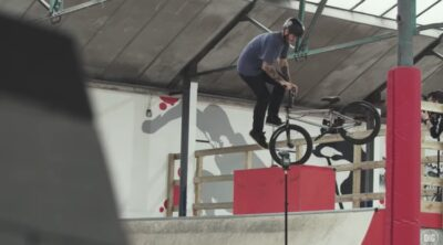 Isaac Lesser The Great Indoors BMX video