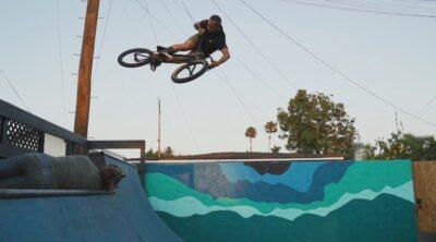 Kevin Porter Backyard Ramp BMX video