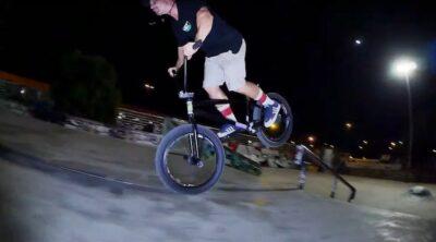 Miki Fleck Mati Lasgoity Plaza Session BMX video