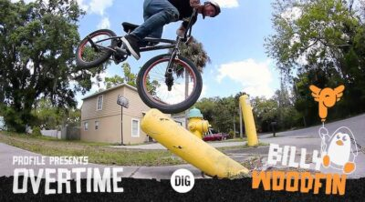 Billy Woodfin Overtime BMX video Profile Racing Albes