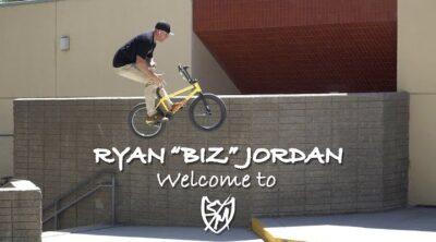 """Ryan """"Biz"""" Jordan SM Bikes Welcome Video"""