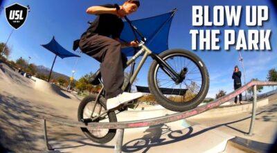 Devon Smillie USL BMX Blow Up The Park BMX video