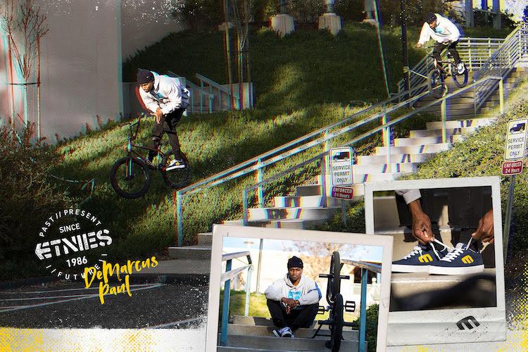 Demarcus Paul Etnies Pro BMX