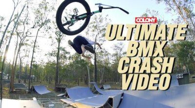 Colony BMX Ultimate BMX Crash Compilation Video