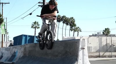 Cult BMX Jaume SIntes In SoCal BMX video