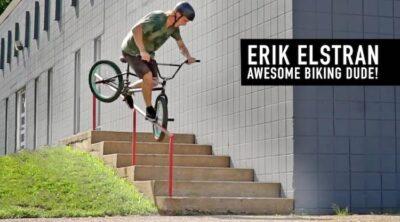 Erik Elstran Awesome Biking Dude BMX video