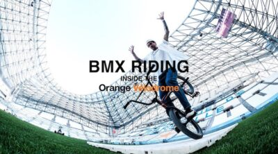 Matthias Dandois Flatland BMX Orange Velodrome