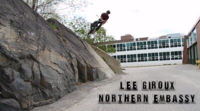 Lee Giroux BMX video Northern Embassy