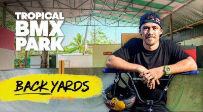 Red Bull Kenneth Tencio Backyards BMX video