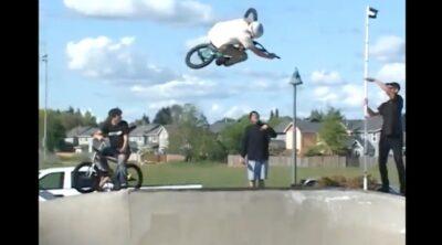 Bethel Skatepark Jam BMX video