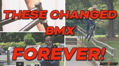 Top 5 Parts that changed BMX forever