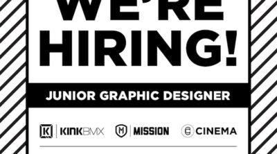 Kink BMX Junior Graphic Designer Job
