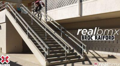 Broc Raiford X Games Real BMX 2021