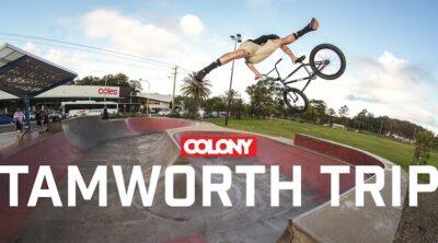 Colony BMX Tamworth Road Trip BMX