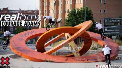 Courage Adams X Games Real BMX 2021