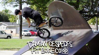 Fit Bike Co Damian Cespedes Los Angeles BMX video
