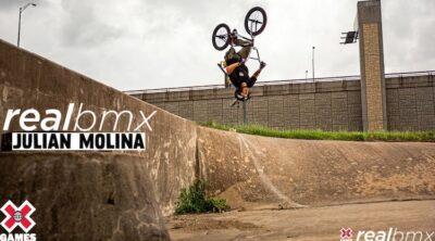 Julian Molina X Games Real BMX 2021