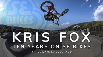 Kris Fox 10 Years SE Bikes BMX