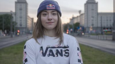Lara Lessmann On Vans Europe BMX