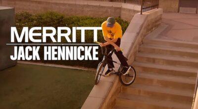 Merritt BMX Jack Hennicke BMX video