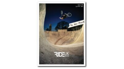 Ride UK BMX Issue 199 Cover