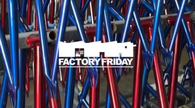 S&M Bikes Factory Friday Red Zinc Blue