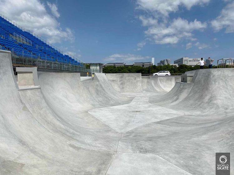 Tokyo Olympics Skatepark BMX Skate
