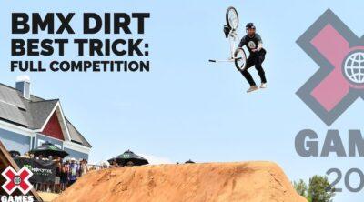 X Games 2021 BMX Dirt Best Trick
