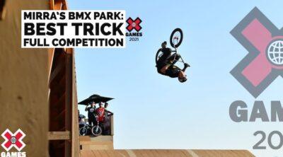 X Games 2021 BMX Park Best Trick