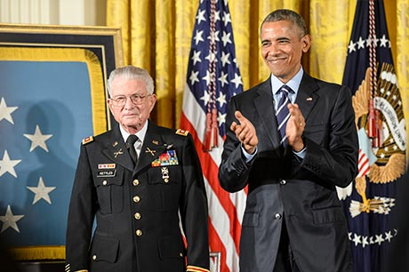 Colonel Kettle Medal of Honor Recipient