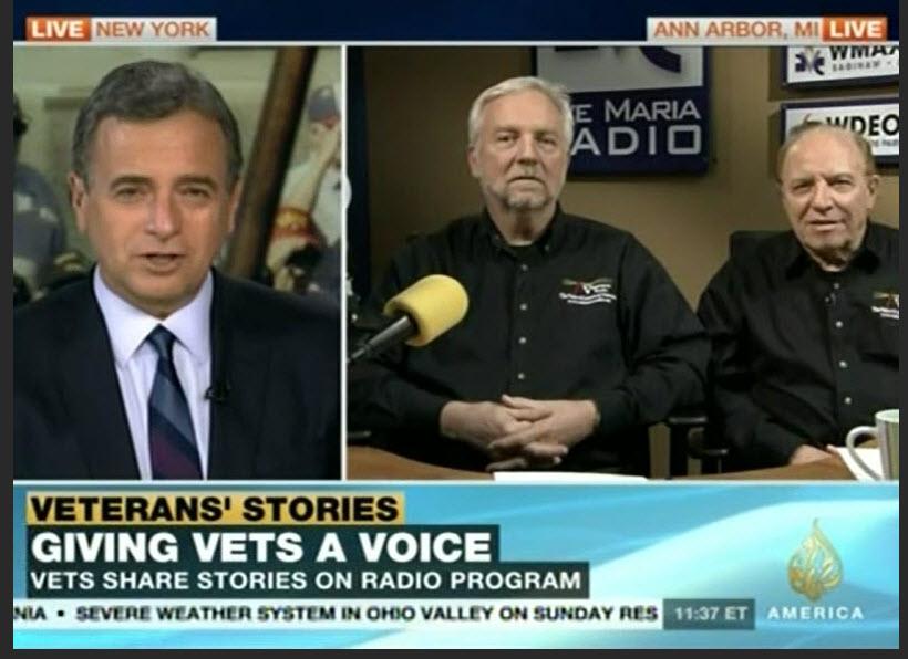 Aljazeera Spotlight November 2013 at Ave Maria Radio