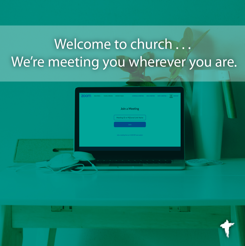 Join us for Sunday worship – In person or on Zoom