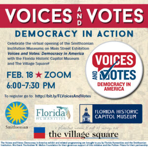 Voices and Votes: Democracy in Action @ Zoom