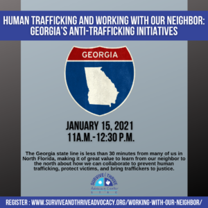 Human Trafficking and Working with our Neighbor: Georgia's Anti-Trafficking Initiatives @ Online