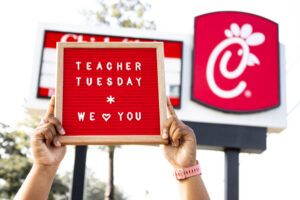 Teacher Tuesdays with Chick-fil-A @ Chick-fil-A North Monroe Street