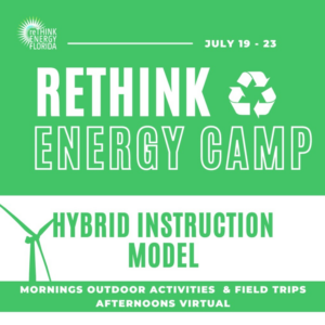 ReThink Energy Camp @ United Church and Virtually on Zoom | Tallahassee | Florida | United States