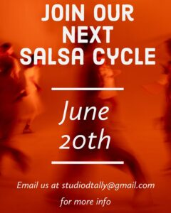 Salsa Classes (8 week cycle)- 1st day @ Studio D | Tallahassee | Florida | United States