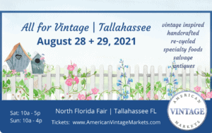 American Vintage Markets: All for Vintage @ North Florida Fair | Tallahassee | Florida | United States