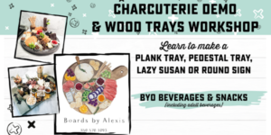 Charcuterie Demo and Wood Tray Workshop @ AR Workshop Tallahassee | Tallahassee | Florida | United States