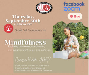 Sickle Cell Foundation Inc. Celebrates September as Sickle Cell Awareness Month with Facebook Live Event @ Facebook Live | Tallahassee | Florida | United States