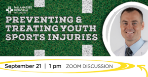 Preventing & Treating Youth Sports Injuries @ Virtual | Tallahassee | Florida | United States