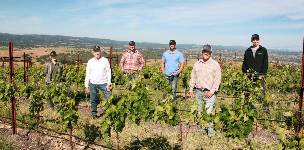 Photo of Coastal Vineyard Services Team