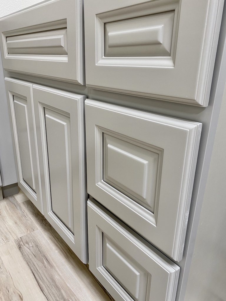 Light Gray Raised Panel Stock Collection