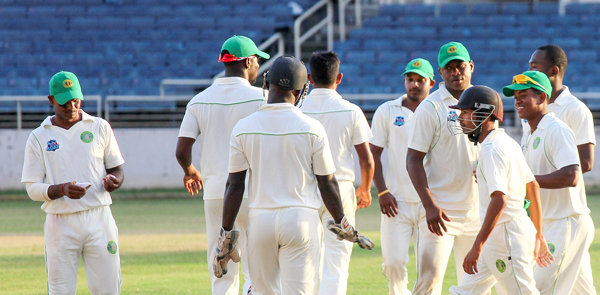 Guyana Jaguars who won the WICB Professional Cricket League (PCL) four-day tournament. Photo: WICB