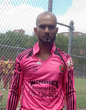 Deonauth Baksh contributed a fine knock of 88.